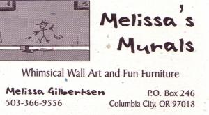 My first business card...2003, I think...