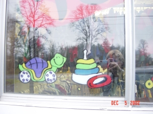 Work for a local business in St. Helens, Oregon,  The Children's Closet, 2004.